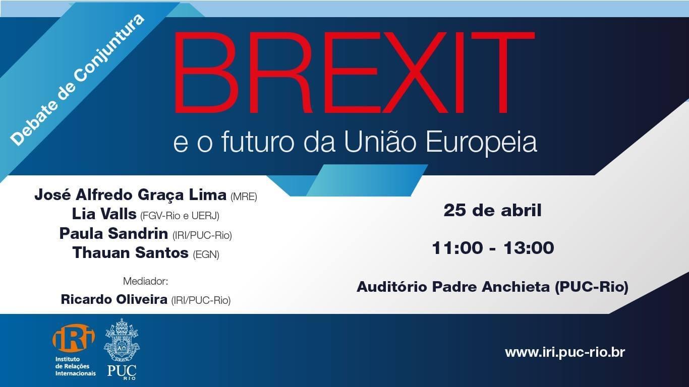 O Brexit e o futuro da União Europeia
