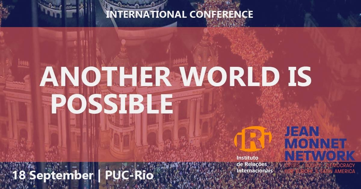 """International Conference: """"Another World is Possible"""""""