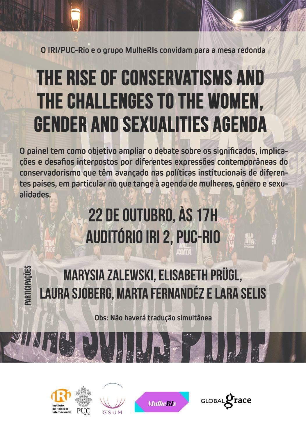 The Rise of Conservatisms and the Challenges to the Women, Gender and Sexualities Agenda