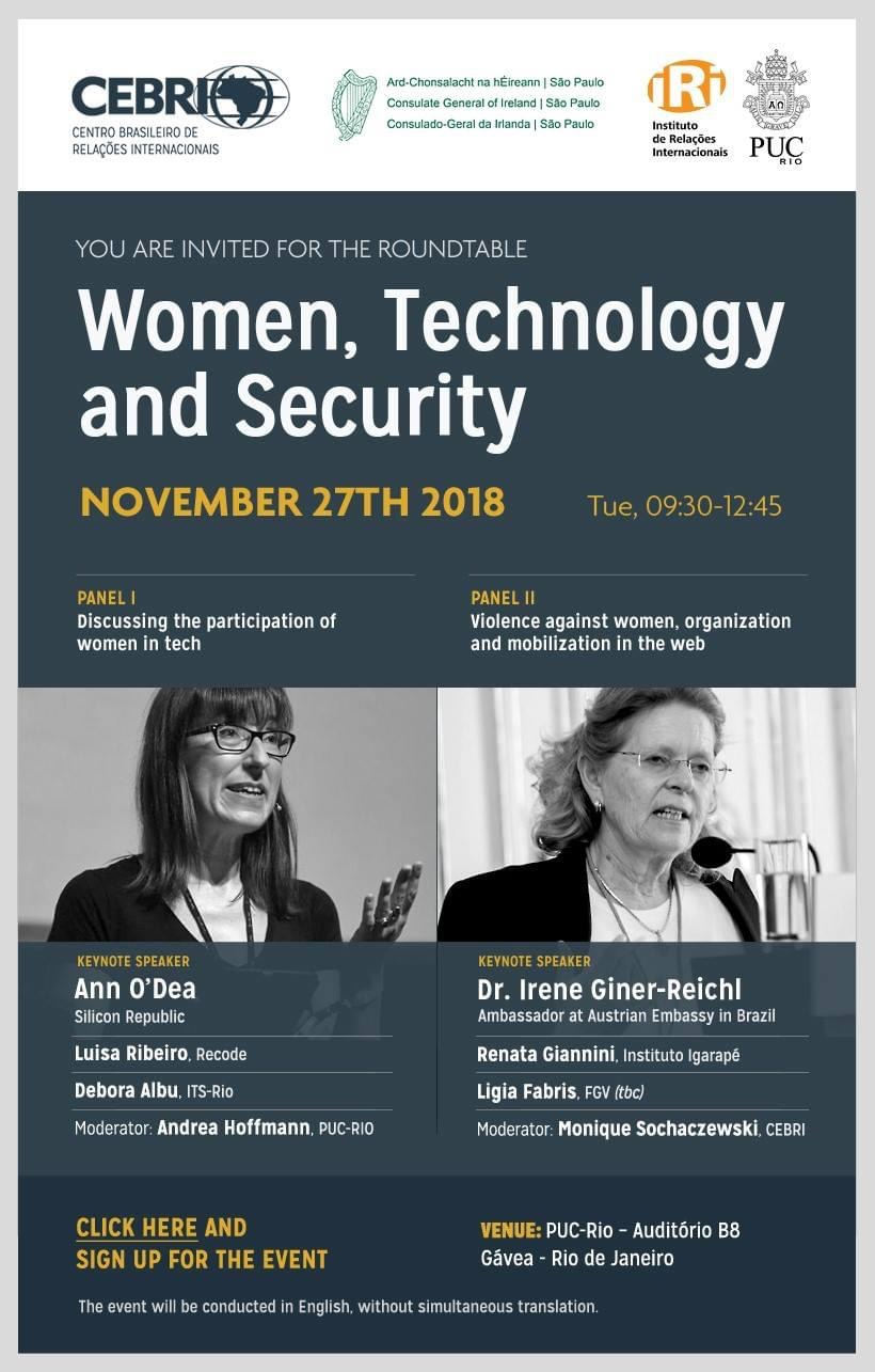 Roundtable: Woman, Technology and Security