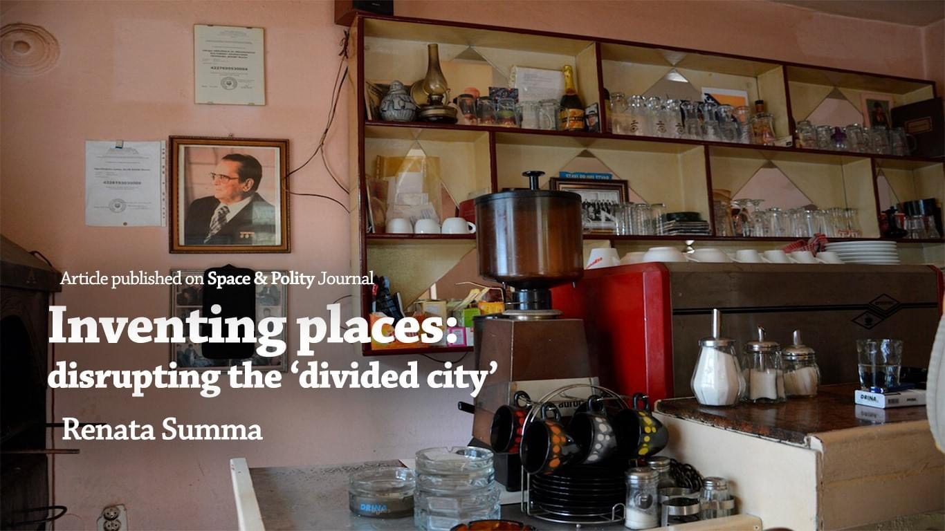 Inventing places: disrupting the 'divided city'