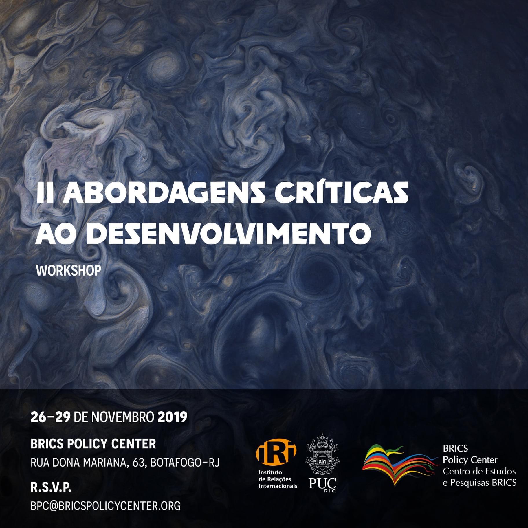 Abordagens Críticas ao Desenvolvimento 2019