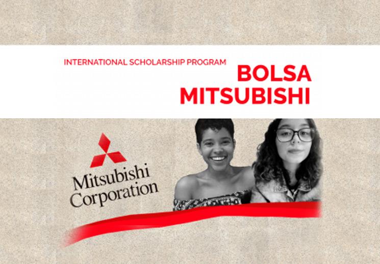Cerimônia de apresentação das bolsistas Mitsubishi 2020-2021