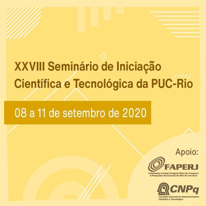 XXVIII Seminário de Iniciação Científica e Tecnológica da PUC-Rio