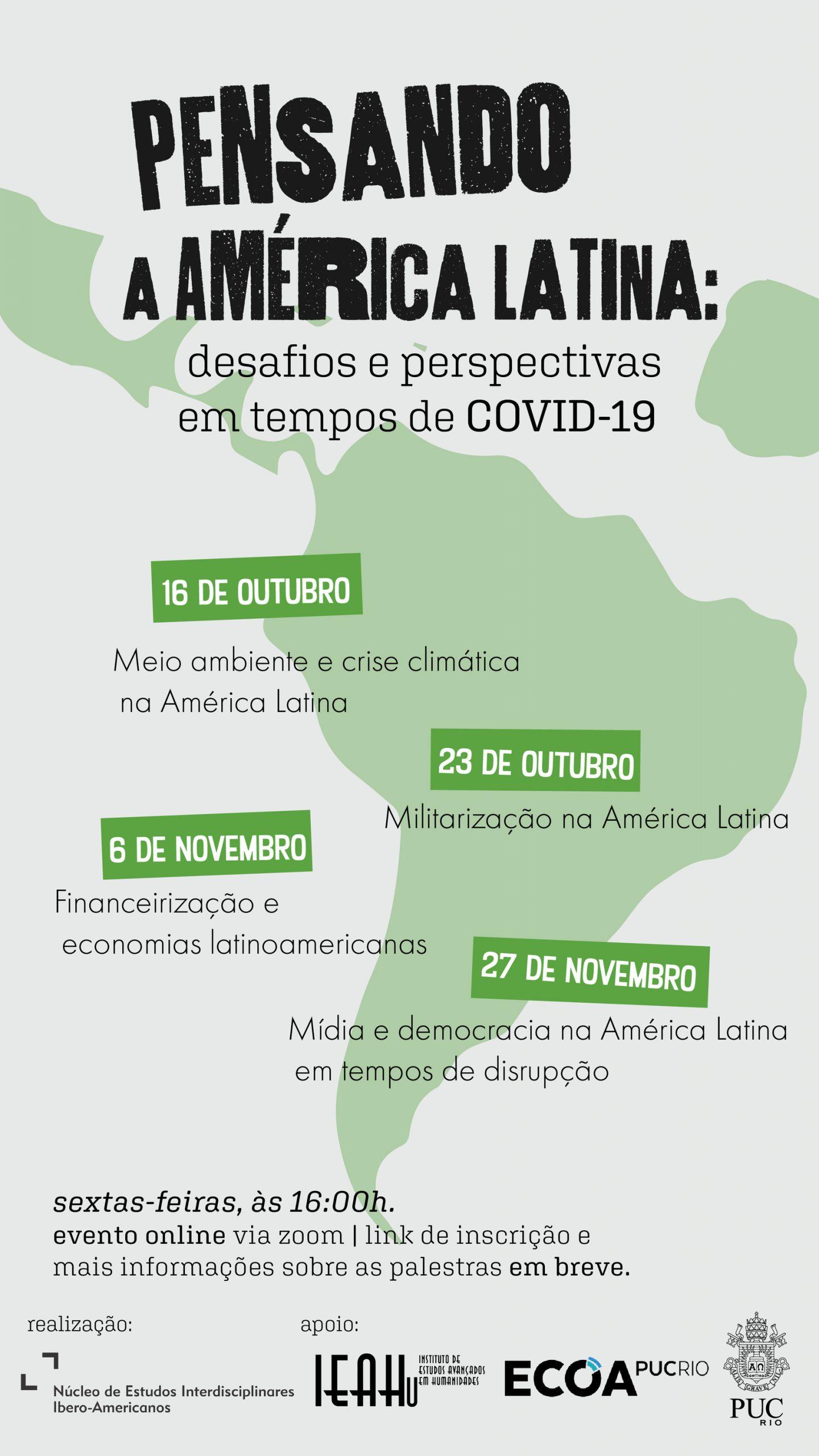 Pensando a América Latina: Desafios e Perspectivas em tempos de COVID-19