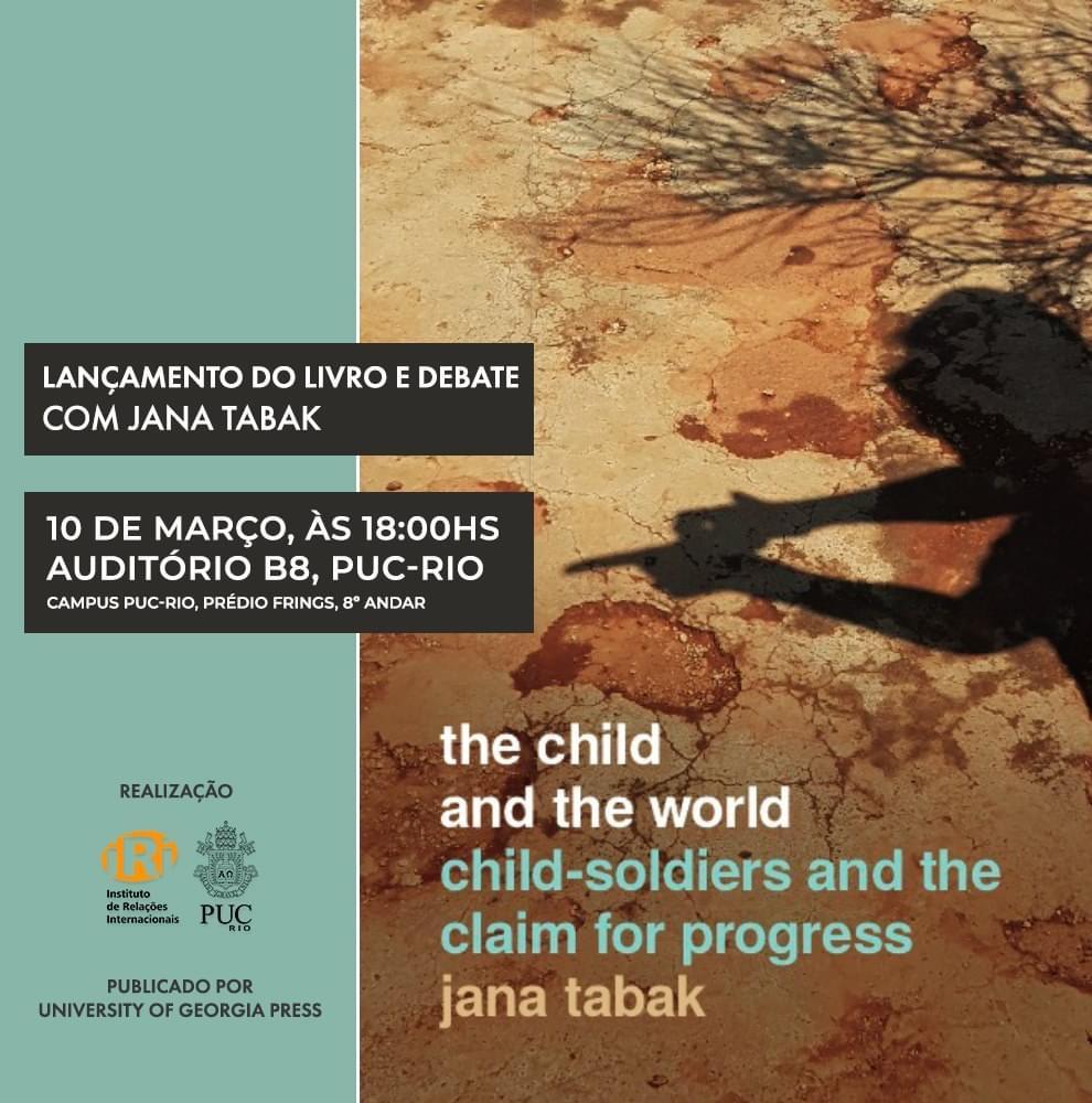 """Lançamento do livro """"The Child and the World"""""""