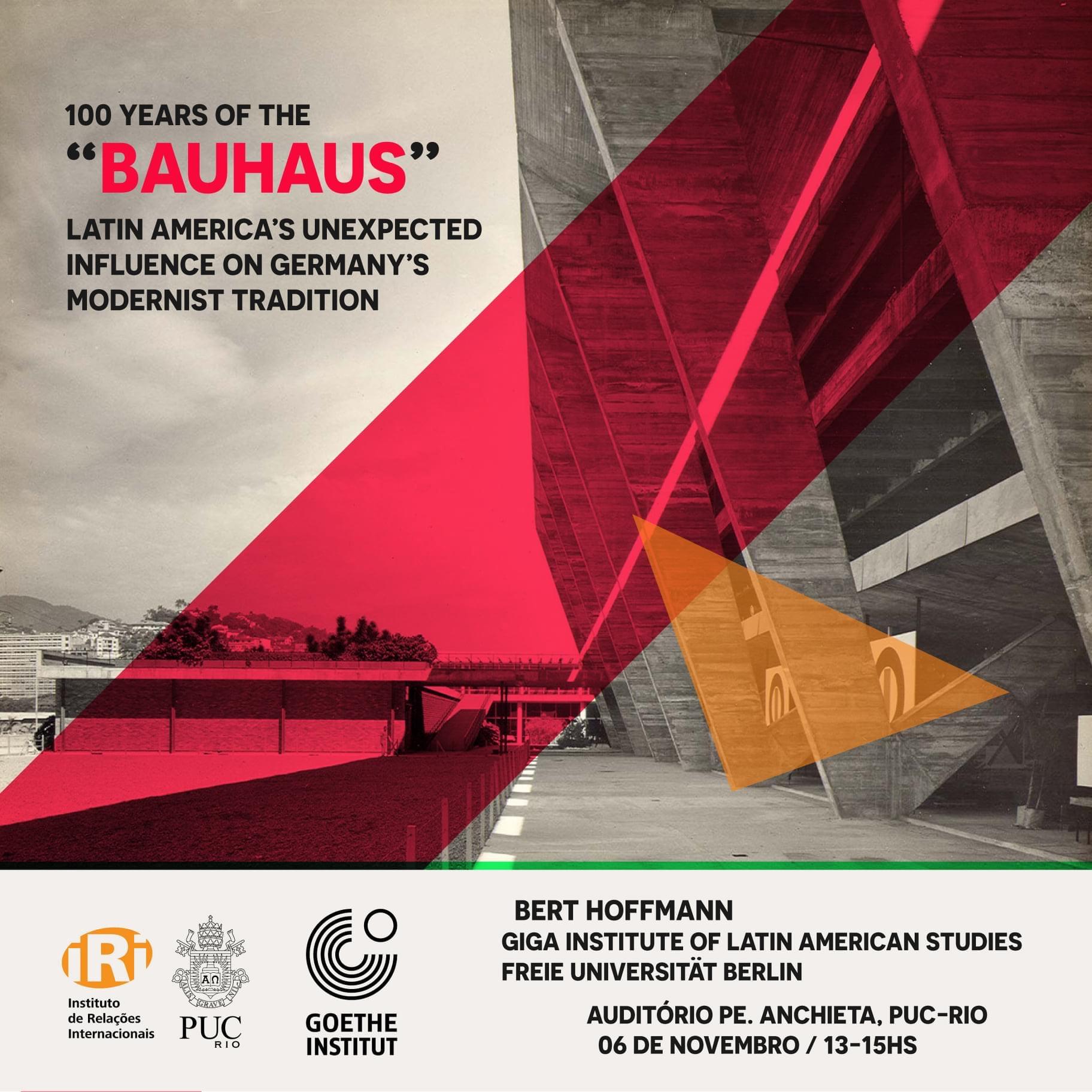 """100 anos de """"Bauhaus"""": A inesperada influência da América Latina na tradição modernista alemã"""
