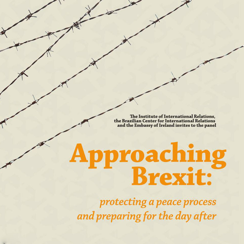 Approaching Brexit: protecting a peace process and preparing for the day after