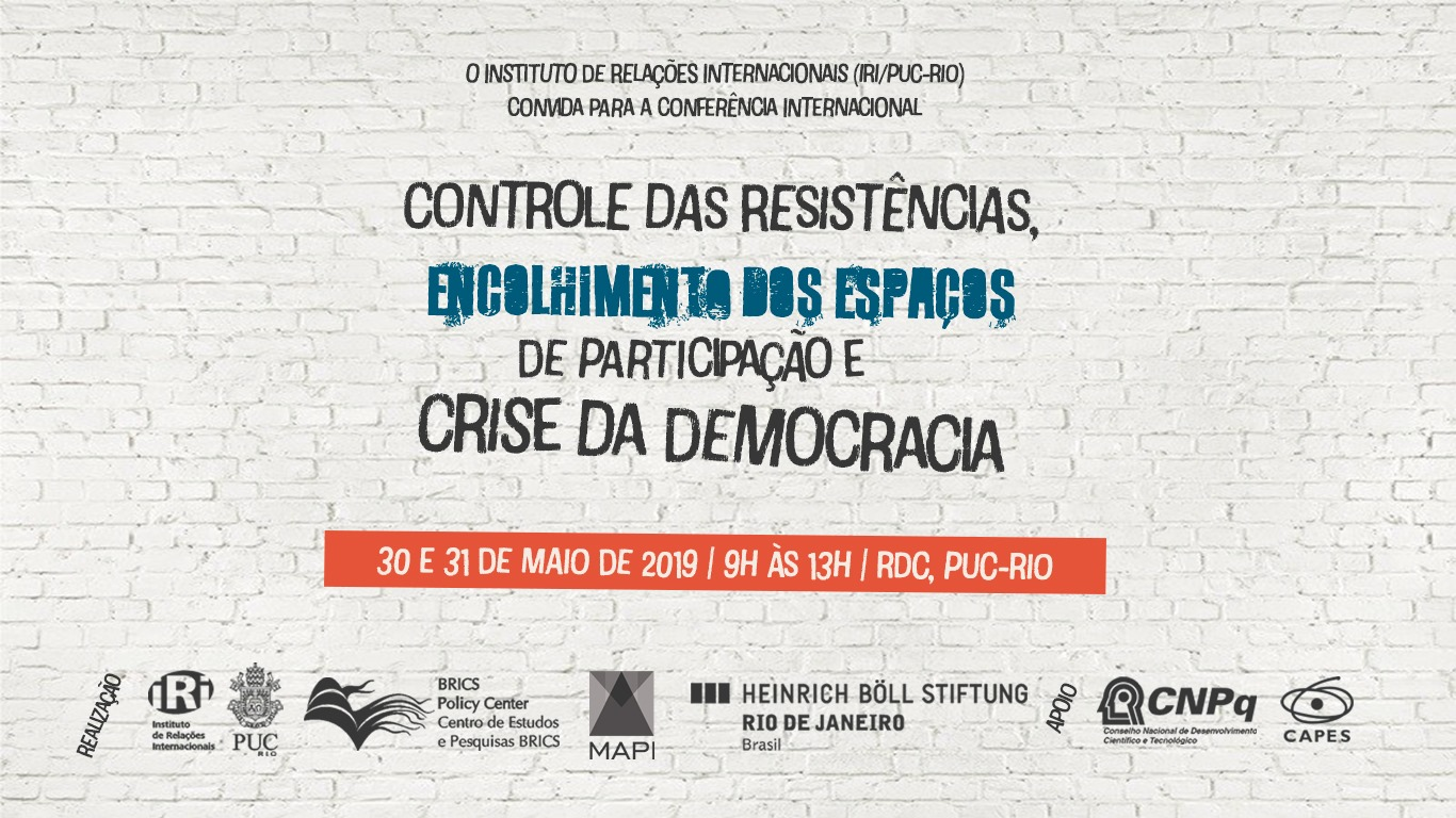 Encolhimento dos Espaços de Participação e Crise da Democracia