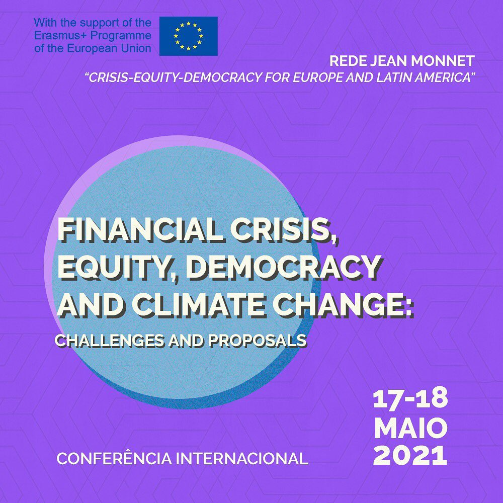 Financial Crisis, Equity, Democracy and Climate Change: Challenges and Proposals