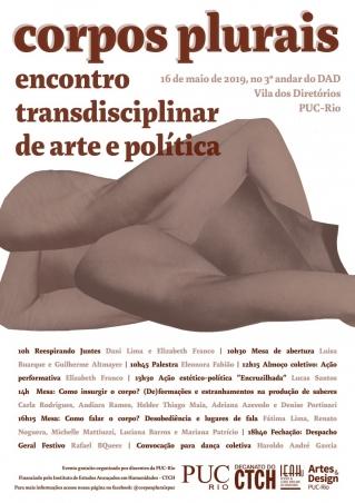 Corpos plurais: encontro transdisciplinar de arte e política