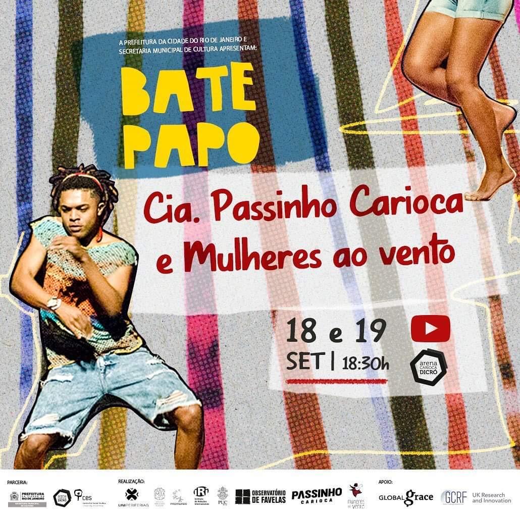 Na Manhã | Bate-Papo com a Cia Passinho Carioca e Coletivo Mulheres ao Vento