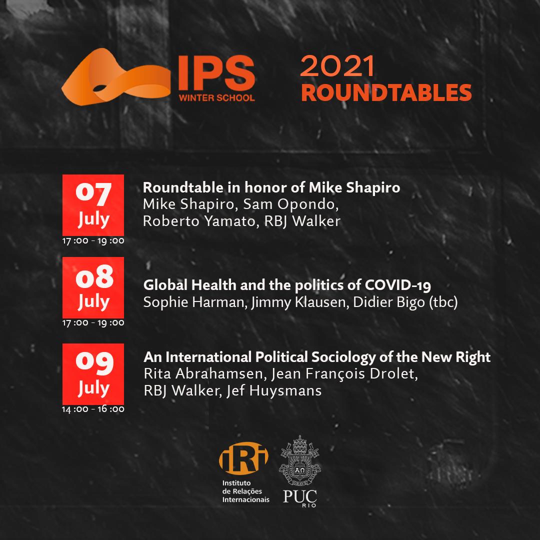 Eventos públicos da IPS Winter School 2021