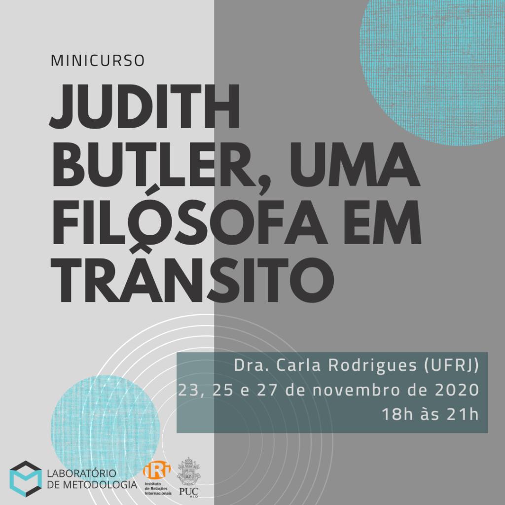 Judith Butler, uma filósofa em trânsito