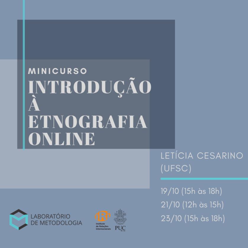 Introdução à etnografia online