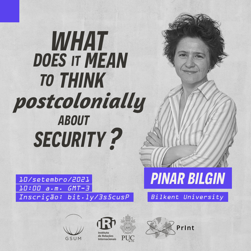 What does it mean to think postcolonially about security?