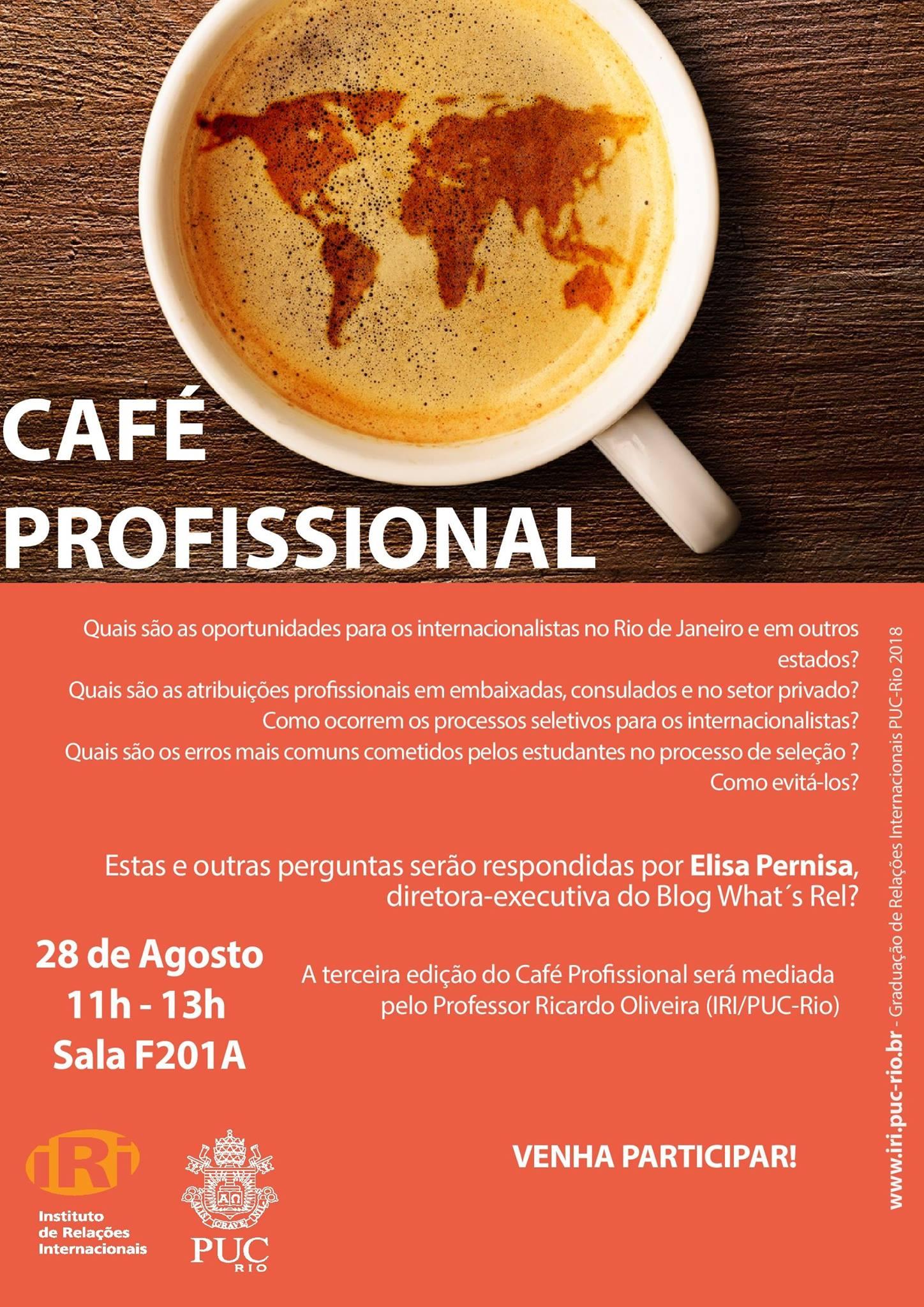 Café Profissional – 3ª Edição