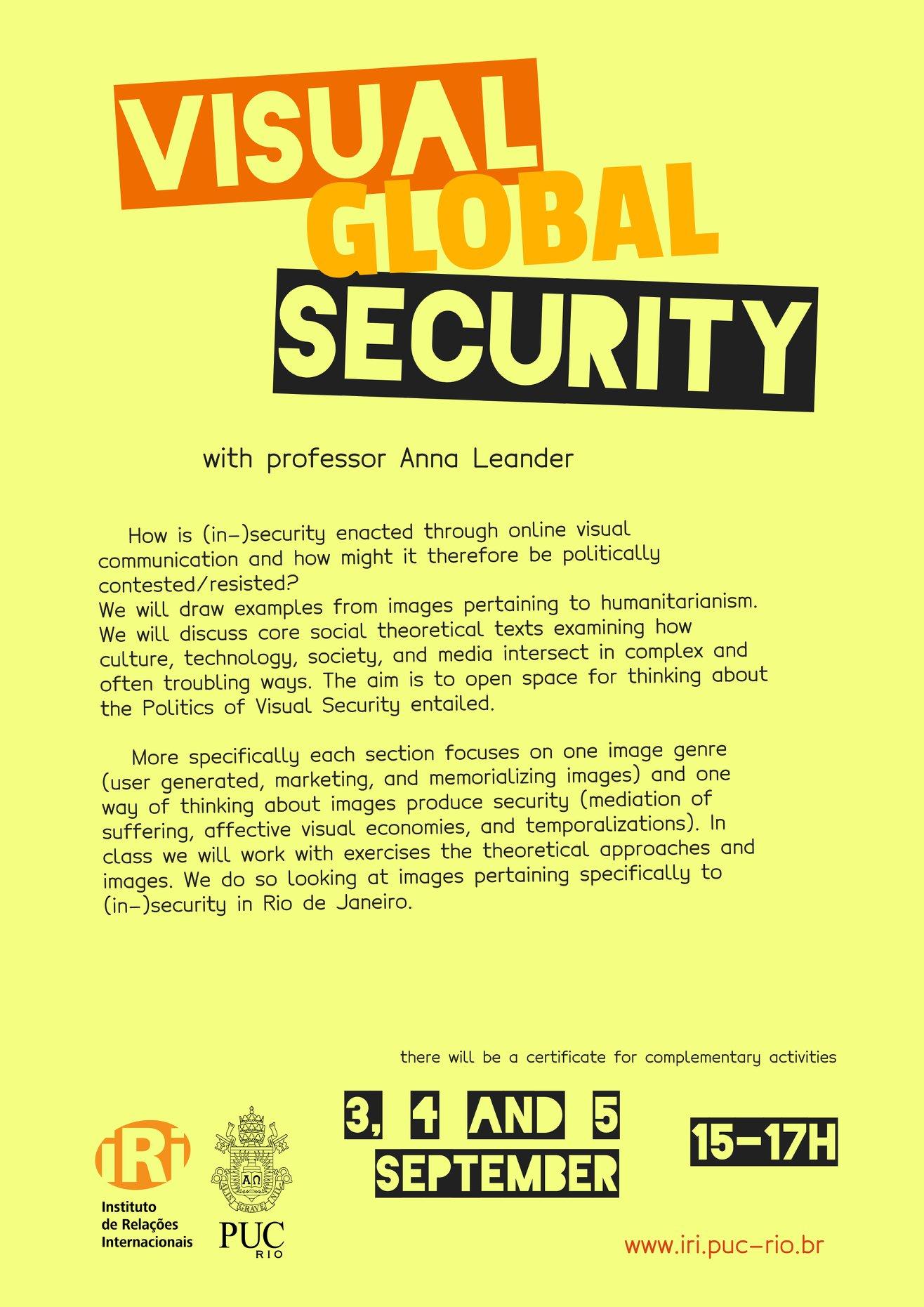 Visual Global Security