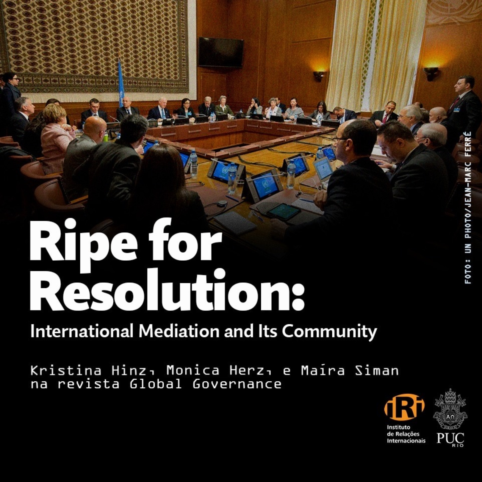Ripe for Resolution: International Mediation and Its Community