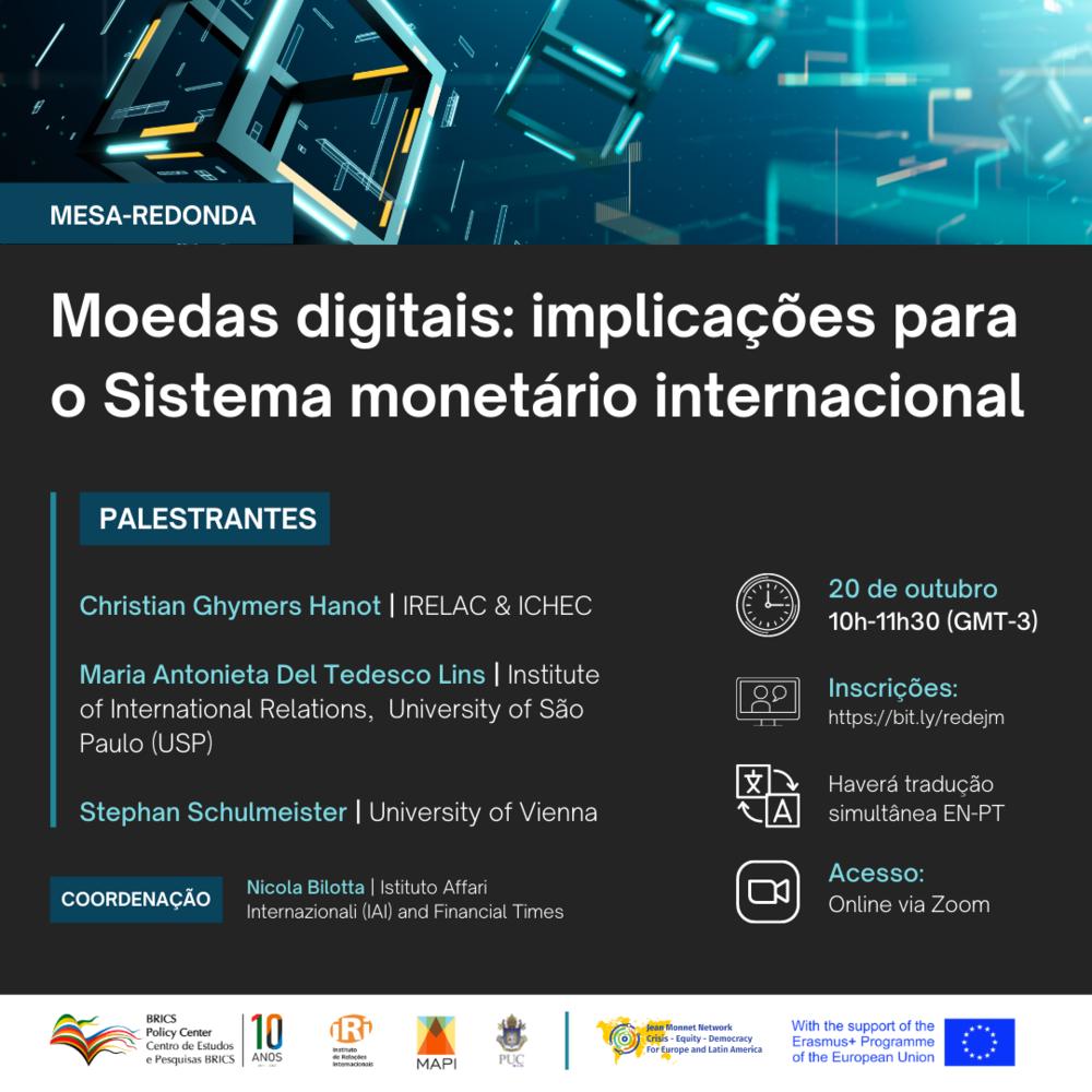 Moedas Digitais: implicações para o sistema monetário internacional
